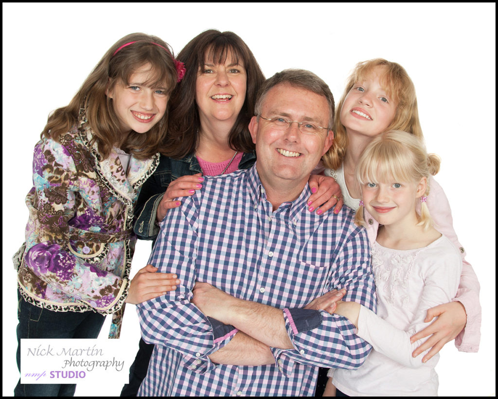 family photography in woodley reading berkshire, studio photographer nick martin